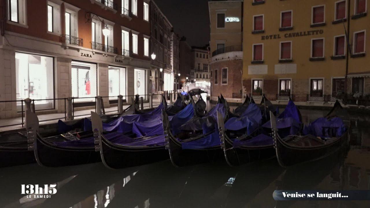 Venise se languit...